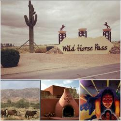 Wildhorse Pass Resort  (Casino, Spa, Golfing and Equestrian Center all on Native American reservation)